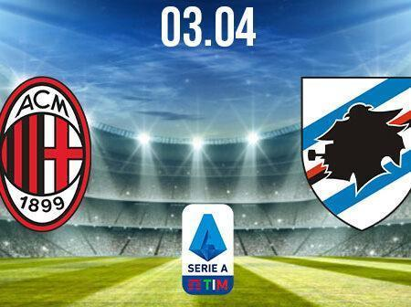 AC Milan vs Sampdoria Preview and Prediction: Serie A Match on 03.04.2021