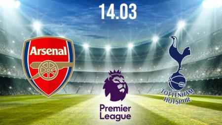 Arsenal vs Tottenham Hotspurs Preview and Prediction: Premier League Match on 14.03.2021