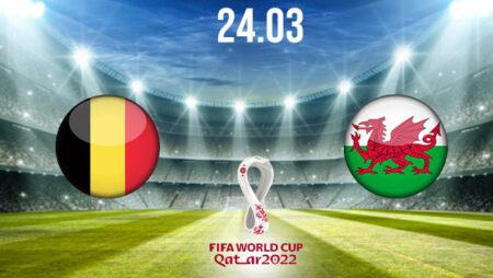 Belgium vs Wales Preview and Prediction: World Cup Qualifier on 24.03.2021