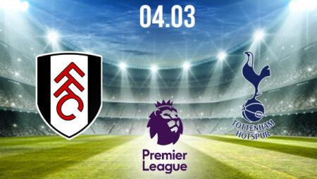 Fulham vs Tottenham Preview and Prediction: Premier League Match on 04.03.2021