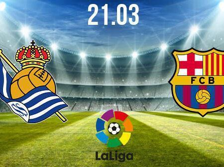 Real Sociedad vs Barcelona Preview and Prediction: La Liga Match on 21.03.2021