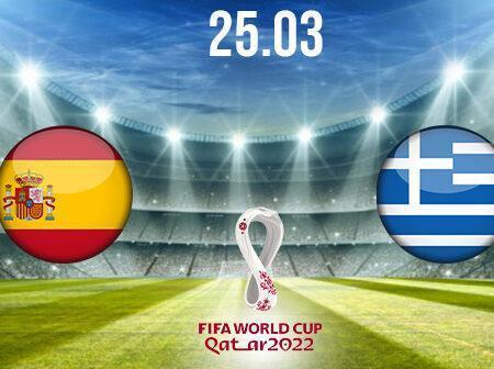 Spain vs Greece Preview and Prediction: World Cup Qualifier on 25.03.2021