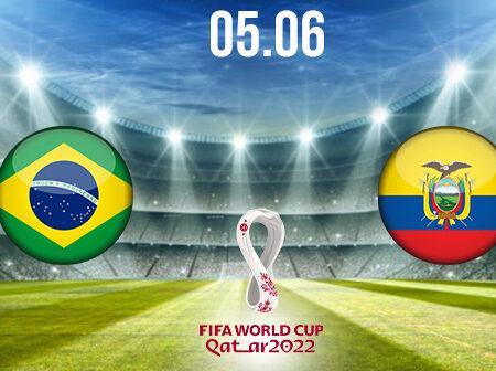 Brasil vs Ecuador Preview and Prediction: World Cup Qualifier on 05.06.2021