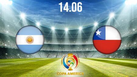 Argentina vs Chile Preview and Prediction: Copa America Match on 14.06.2021