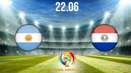 Argentina vs Paraguay Preview and Prediction: Copa America Match on 22.06.2021