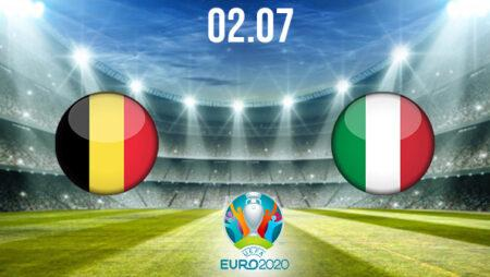 Belgium vs Italy Preview and Prediction: EURO 2020 Match on 02.07.2021