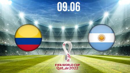 Colombia vs Argentina Preview and Prediction: World Cup Qualifier on 09.06.2021
