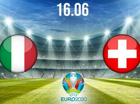 Italy vs Switzerland Preview and Prediction: EURO 2020 Match on 16.06.2021