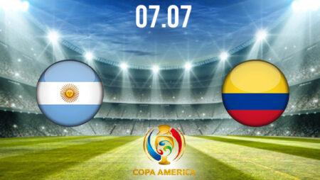 Argentina vs Colombia Preview and Prediction: Copa America Match on 07.07.2021