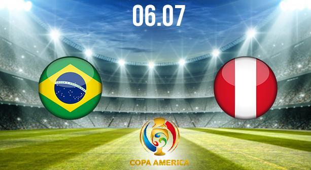 Brasil vs Peru Preview and Prediction: Copa America Match on 06.07.2021