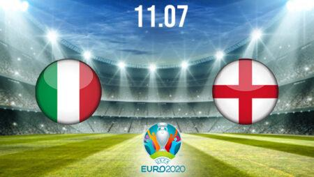 Italy vs England Preview and Prediction: EURO 2020 Match on 11.07.2021