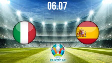 Italy vs Spain Preview and Prediction: EURO 2020 Match on 06.07.2021