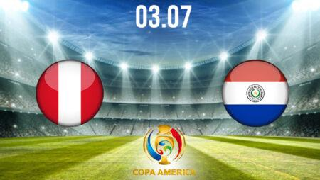 Peru vs Paraguay Preview and Prediction: Copa America Match on 03.07.2021