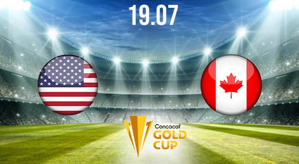 USA vs Canada Preview and Prediction: CONCACAF Gold Cup Match on 19.07.2021